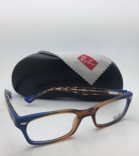 Ray-Ban RAY-BAN Rx-able Eyeglasses HIGHSTREET RB 5150 5488 Brown Transp-Blue Image 10