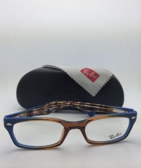 Ray-Ban RAY-BAN Rx-able Eyeglasses HIGHSTREET RB 5150 5488 Brown Transp-Blue Image 11