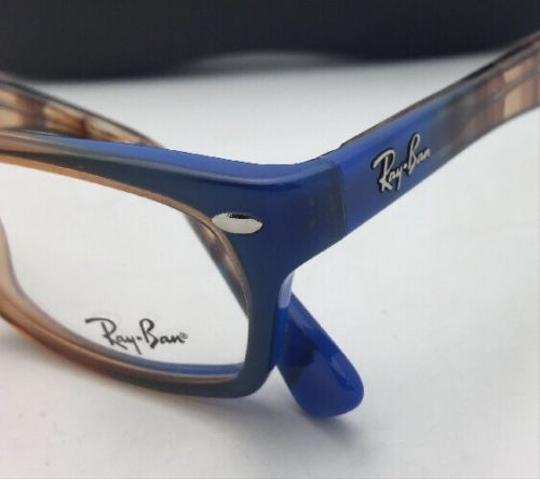 Ray-Ban RAY-BAN Rx-able Eyeglasses HIGHSTREET RB 5150 5488 Brown Transp-Blue Image 2