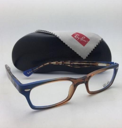 Ray-Ban RAY-BAN Rx-able Eyeglasses HIGHSTREET RB 5150 5488 Brown Transp-Blue Image 3