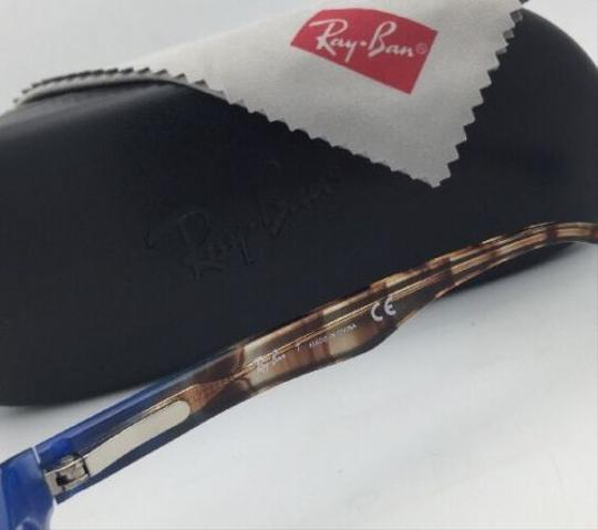 Ray-Ban RAY-BAN Rx-able Eyeglasses HIGHSTREET RB 5150 5488 Brown Transp-Blue Image 4