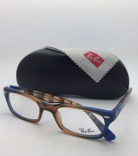 Ray-Ban RAY-BAN Rx-able Eyeglasses HIGHSTREET RB 5150 5488 Brown Transp-Blue Image 5