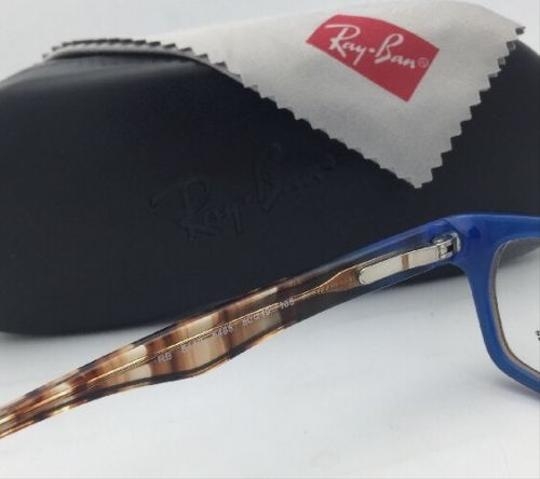 Ray-Ban RAY-BAN Rx-able Eyeglasses HIGHSTREET RB 5150 5488 Brown Transp-Blue Image 6