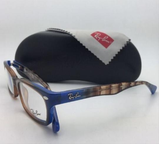 Ray-Ban RAY-BAN Rx-able Eyeglasses HIGHSTREET RB 5150 5488 Brown Transp-Blue Image 7