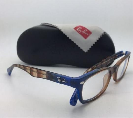 Ray-Ban RAY-BAN Rx-able Eyeglasses HIGHSTREET RB 5150 5488 Brown Transp-Blue Image 8
