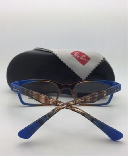 Ray-Ban RAY-BAN Rx-able Eyeglasses HIGHSTREET RB 5150 5488 Brown Transp-Blue Image 9