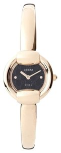 Gucci Gucci Ladies YA014517 1400 Black Steel and PVD Watch