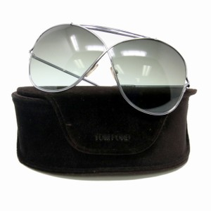 Tom Ford Tom Ford Catherine TF 200 1/12 25F Ivory Oversized Aviator Italy