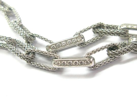 Tiffany & Co. Tiffany & Co 18Kt Rope Diamond White Gold Necklace 1.80CT Image 4