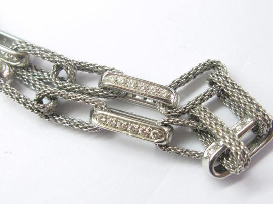 Tiffany & Co. Tiffany & Co 18Kt Rope Diamond White Gold Necklace 1.80CT Image 5