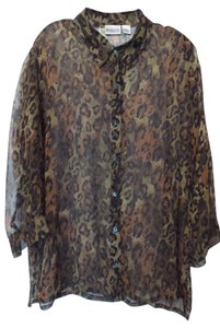 Chico's Oversized Silk Xl Tunic