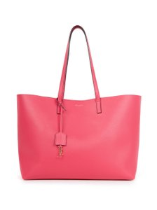 Saint Laurent New Ysl Tote in Pink