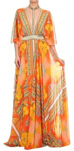 orange Maxi Dress by Va Va Voom