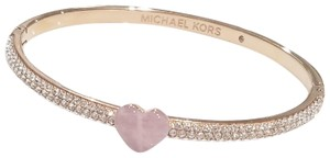 Michael Kors Michael Kors Rose Gold-Tone Bangle Bracelet (boxed)