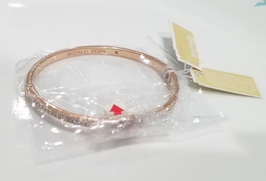 Michael Kors Michael Kors Rose Gold-Tone Bangle Bracelet (boxed) Image 2