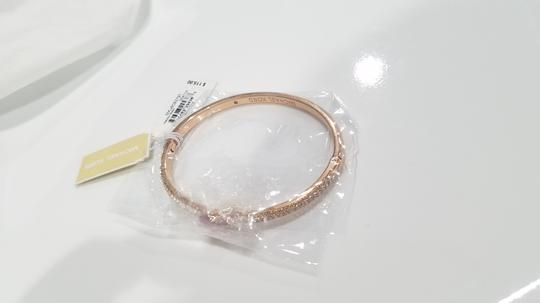 Michael Kors Michael Kors Rose Gold-Tone Bangle Bracelet (boxed) Image 3