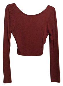 Zenana Outfitter Top Maroon