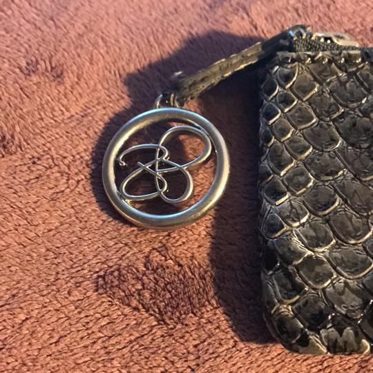 Jessica Simpson coin purse Wristlet in Grey and Black Image 1