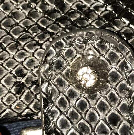 Jessica Simpson coin purse Wristlet in Grey and Black Image 5