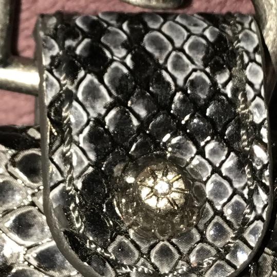 Jessica Simpson coin purse Wristlet in Grey and Black Image 6