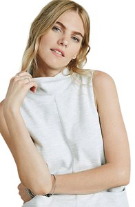 Free People short dress Heather Grey Shift Cowl Minimal Modern on Tradesy
