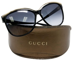 Gucci Gucci Signature GG Monogram Women's 3155 Cat Eye Gold Sunglasses