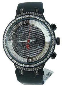 Joe Rodeo Joe Rodeo/Jojo Master Black 1 Row Diamond Watch 4.85 Ct
