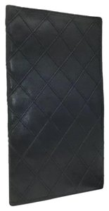Chanel Quilted Matelasse Lambskin Wallet