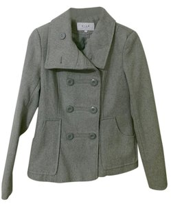 Villager Asos Casual Classic Classy Peacoat Coat Coats Spring Spring Spring Cute Wool Wool Gray Jacket