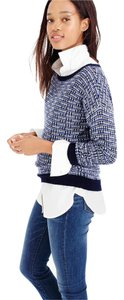 J.Crew Tweed Fancy Bracelet Sleeves Party Chic Sweater