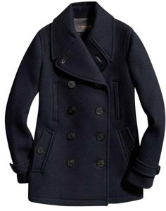 Coach Coach Women's Blue Scuba Wool Peacoat