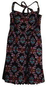 Edme & Esyllte short dress mulitcolored print on Tradesy