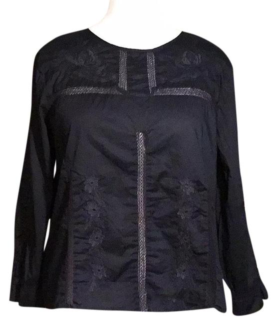 Preload https://img-static.tradesy.com/item/20941002/jcrew-navy-blue-embroidered-long-sleeves-cotton-blouse-size-12-l-0-1-650-650.jpg