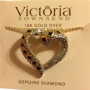 Victoria Townsend Genuine Diamonds and Sapphire