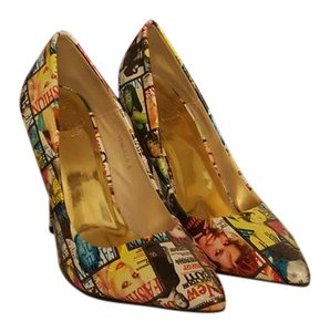 Cape Robbin multicolor Pumps