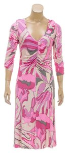 Emilio Pucci short dress Pink/Multicolor on Tradesy
