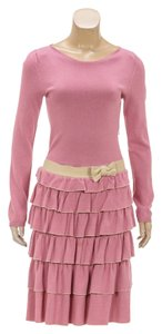 RED Valentino short dress Pink on Tradesy