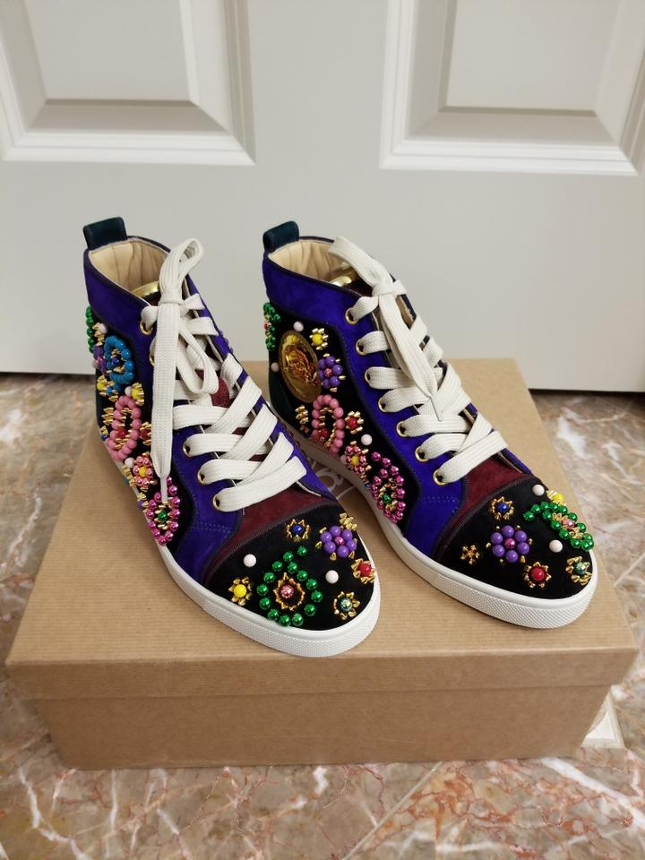 8243af0a1d2 Christian Louboutin Multicolor Sneacandy Trainers Sneakers Size EU 35  (Approx. US 5) Regular (M, B) 43% off retail
