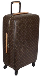 Louis Vuitton Vuitton Travel Vuitton Traveling Vuitton Trolley Case Rolling Luggage Suitcase Brown Travel Bag