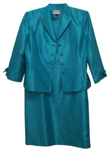 Kasper ASL Petite NEW! Shimmering Raw Silk Look Dress Jacket