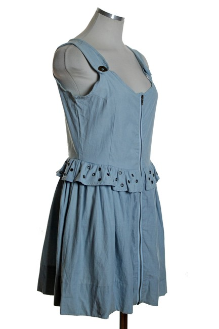 LF short dress Blue Sleeveless Woven on Tradesy Image 1