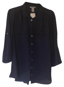 H&M Top navy