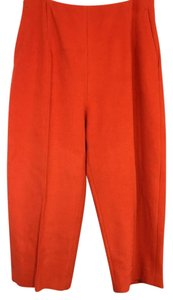 Céline Capri/Cropped Pants Orange