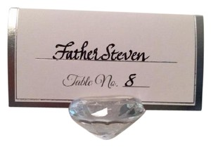 David Tutera Crystal Name Holders For Reception Table