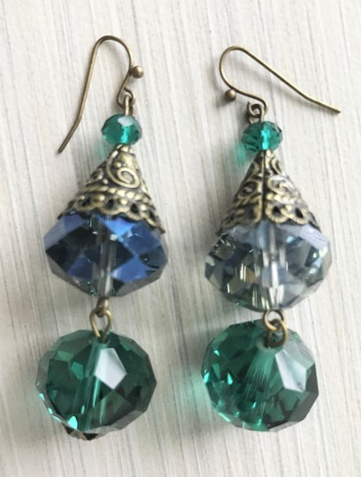 Other Pierced crystal earrings Image 1