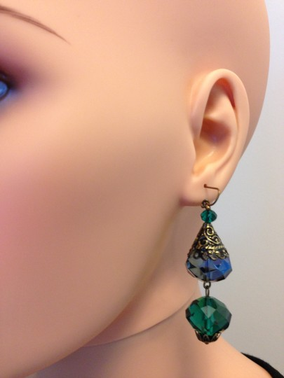 Other Pierced crystal earrings Image 10