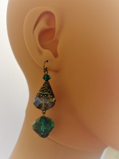 Other Pierced crystal earrings Image 11