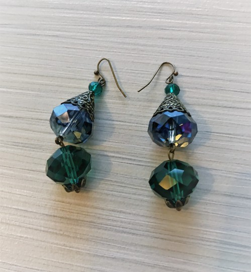 Other Pierced crystal earrings Image 4