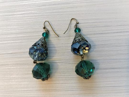 Other Pierced crystal earrings Image 5