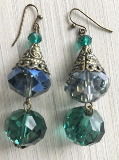 Other Pierced crystal earrings Image 6